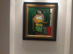 An art in Karar house