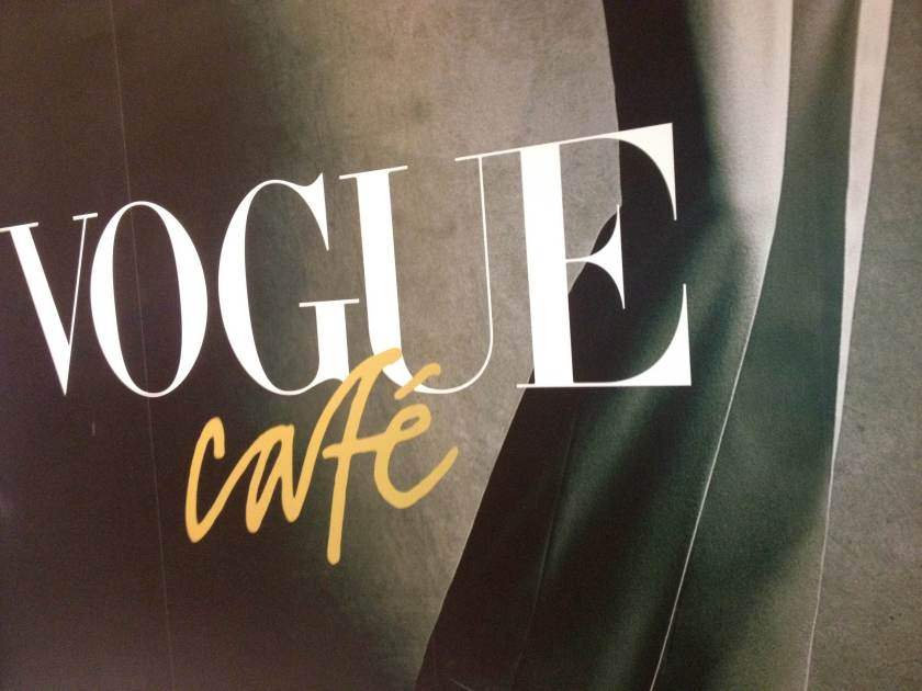 The Vogue cafe will be located in the middle of the shoe district level